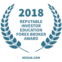 2018 प्रतिष्ठित निवेशक शिक्षा फॉरेक्स ब्रोकर पुरस्कार