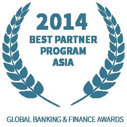 2014 Best Partner Program Asia award