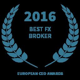 2016 Best FX Broker award